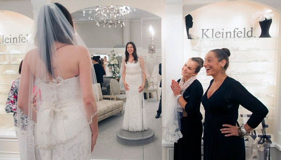 Kleinfield bride shopping