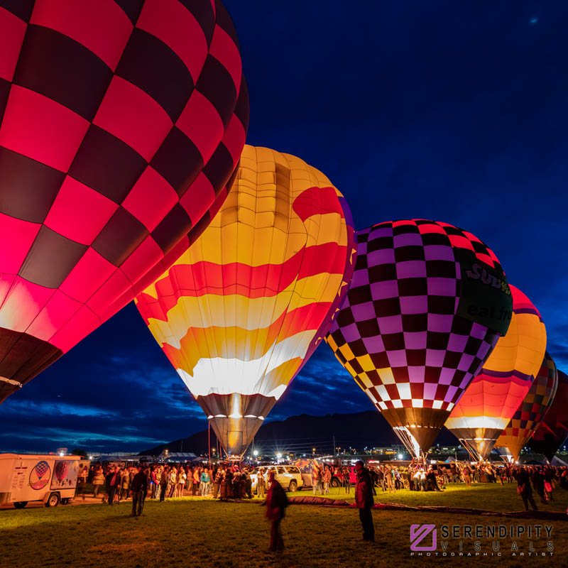 Dawn patrol at Balloon Fiesta