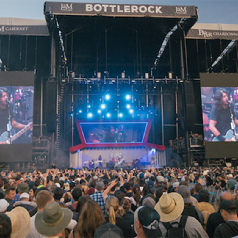 Thumbanil for Enjoy General Admission tickets to see Bruno Mars, The Killers, Muse and more at BottleRock 2018!