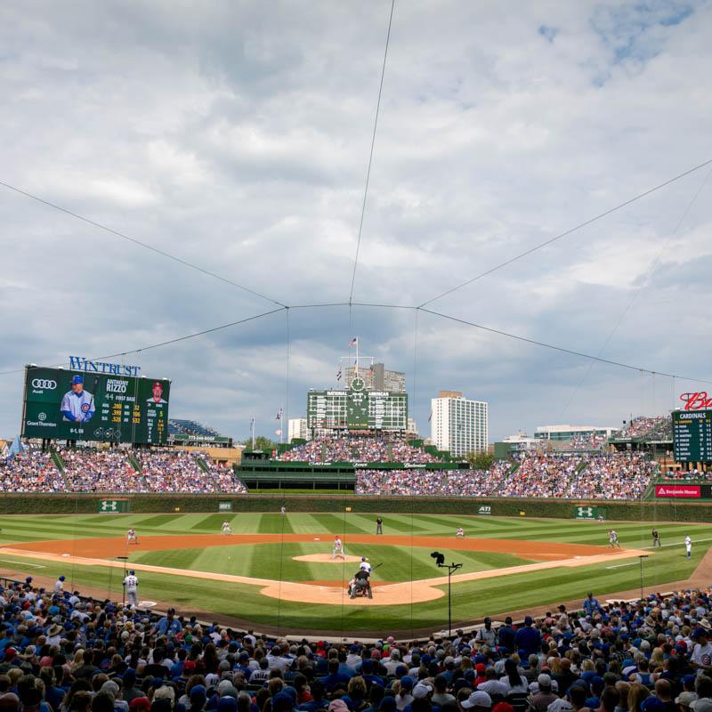 Cubs baseball field