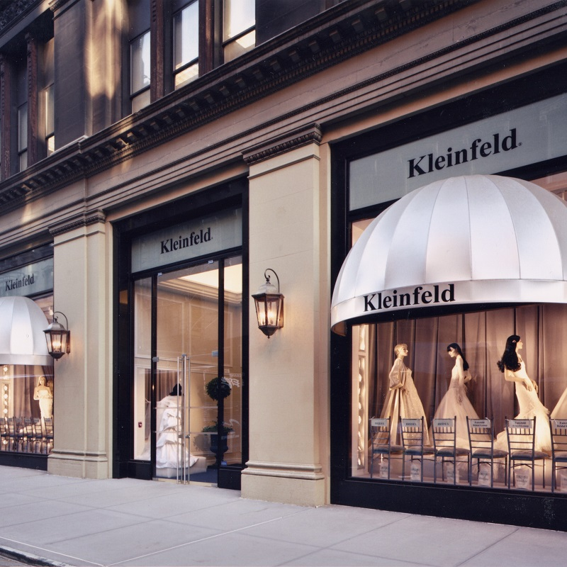 Kleinfield bridal store