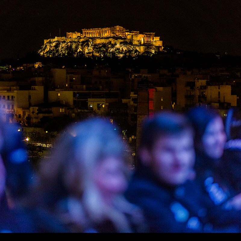 Delight in a Delectable Meal Floating Over Athens at Dinner in the Sky + Two-Night Stay at Hotel Grande Bretagne