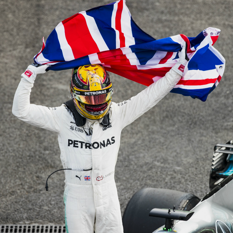 Meet Lewis Hamilton at the Mercedes-AMG Petronas Motorsport Brackley<br>Headquarters