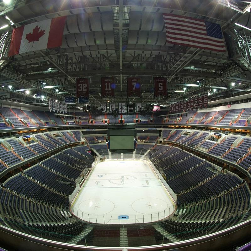 hockey rink