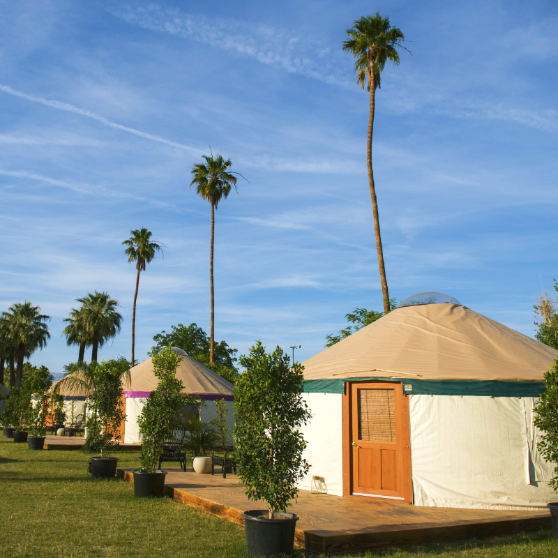Access Coachella with 3-Day Artist Passes + Ultimate W Hotels Yurt Camping Experience
