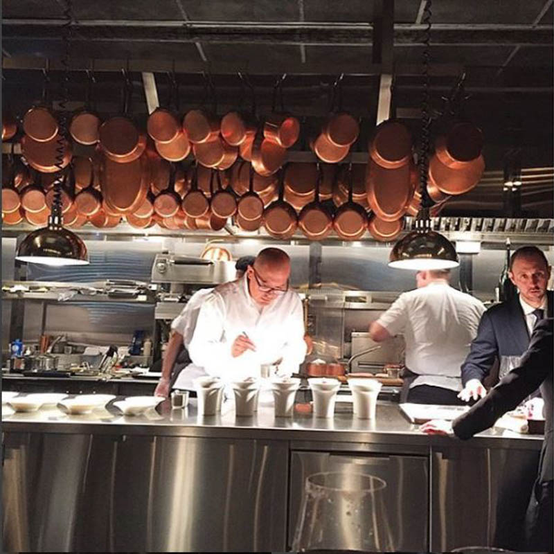 Thumbanil for See Chef César Ramirez in Action at Michelin 3-Star Restaurant, Chef's Table at Brooklyn Fare – <b>Table for 2</b>