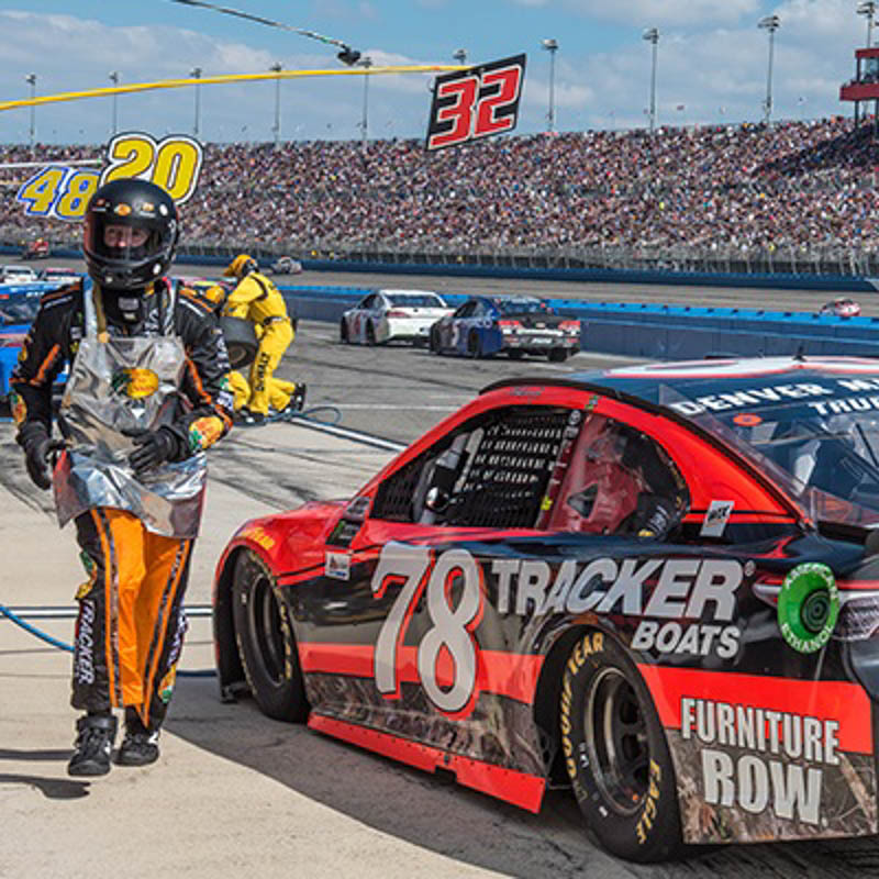 Thumbanil for VIP Experience at the Monster Energy NASCAR Cup Series Auto Club 400 + Pit Passes & Photo with the Winning Driver