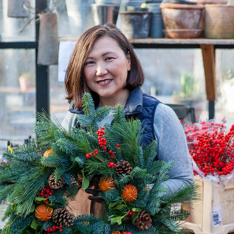 Create your own exquisite Christmas Wreath with Noriko Choy at The St. Regis Osaka + Signature Festive Afternoon Tea