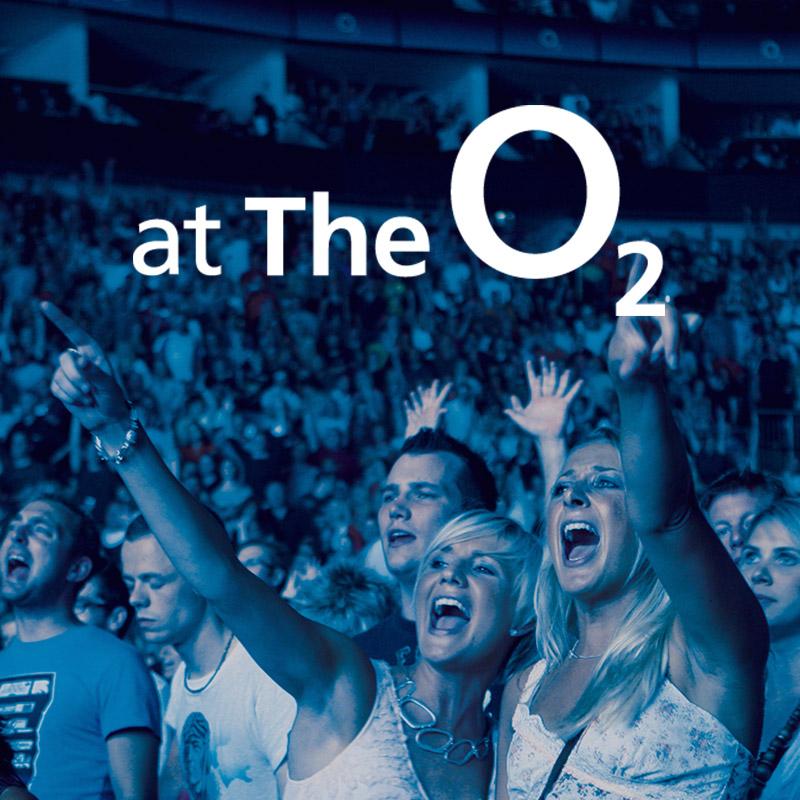 O2 concert crowd