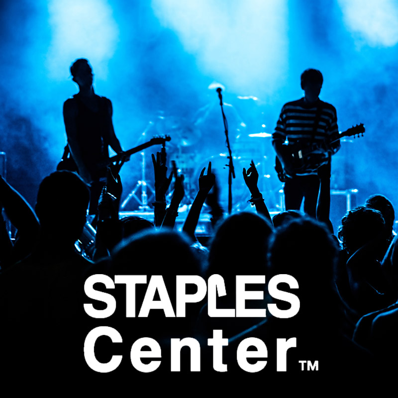 STAPLES Center concert