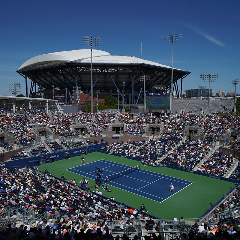 Grandstand at US Open