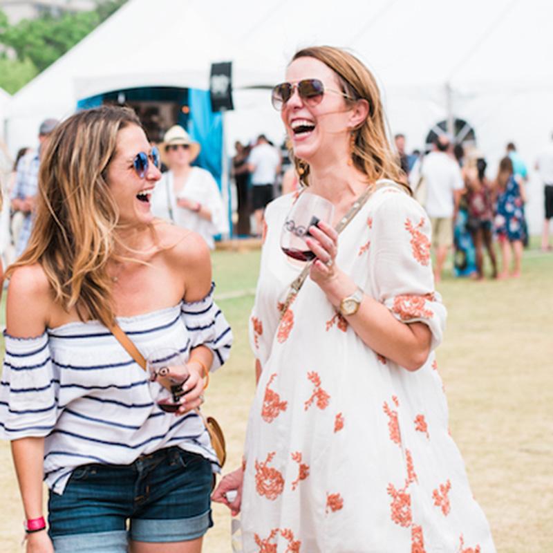 women at festival