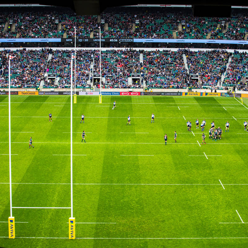 Score with Tickets to the England vs. France Rugby Match from a Hospitality Pitch View Suite