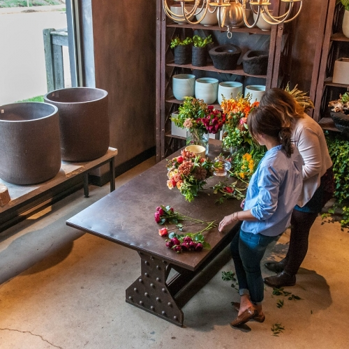 Learn to Artfully Arrange Stylish Bouquets with a Private Floral Design Workshop at Winston Flowers