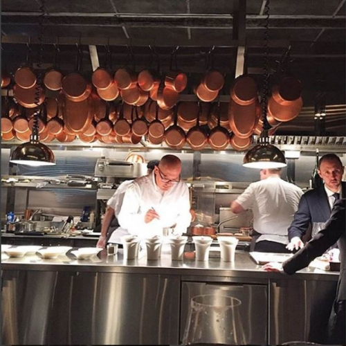 See Chef César Ramirez in Action at Michelin 3-Star Restaurant, Chef's Table at Brooklyn Fare – <b>Table for 2</b>