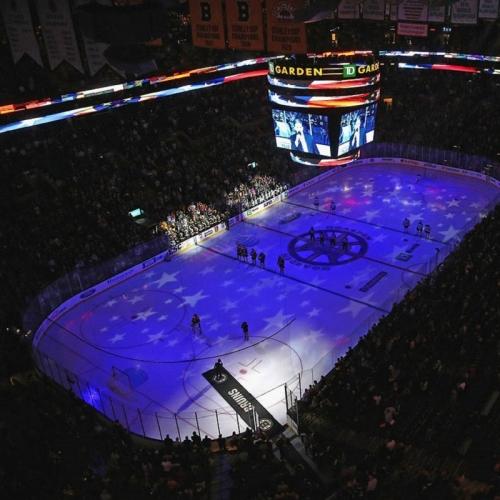 Bruins hockey rink