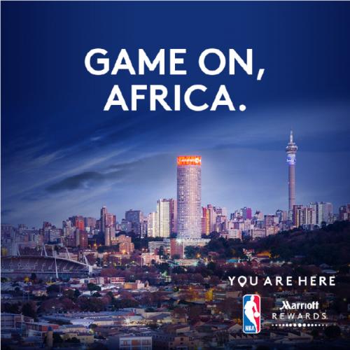 Αποτέλεσμα εικόνας για Game on Africa – Marriott International Partners with NBA Africa Game 2017